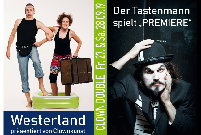 DER TASTENMANN & CLOWNKUNST | Clown Double
