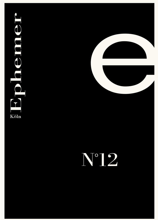 EPHEMER | Abschlussarbeiten